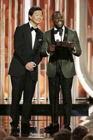 john and ken despicable humans kevin hart and ken jeong at event of 73rd golden globe awards 2016