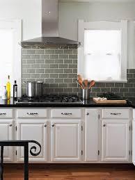 ideas gray subway tile kitchen questions