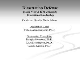 Dissertation defense ppt   Write My Essay