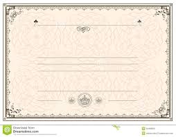 certificate frame border royalty stock photos image  certificate frame border