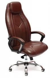 Купить <b>кресло</b> руководителя <b>TETCHAIR BOSS</b> 2 TONE BROWN в ...
