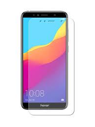 <b>Гибридное защитное стекло Krutoff</b> для Huawei Y5 Prime 2018 Y5 ...
