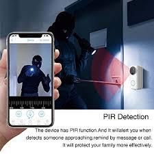 <b>Wireless Video Doorbell,1080P HD</b> WiFi Se- Buy Online in ...