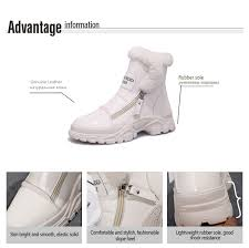 <b>AIYUQI Women</b> casual <b>boots</b> 2019 new genuine leather female <b>flat</b> ...