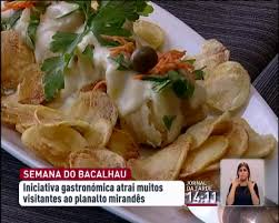 Miranda do Douro promove semana gastronómica do bacalhau