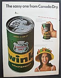 Image result for wink the sassy one from canada dry