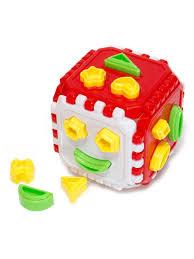 Игрушка-логика <b>Сортер</b> Куб большой <b>ORION TOYS</b> 13597932 в ...