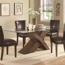 round dining table base: deluxe glass and wood dining table exclusive round dining table base