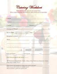catering estimate template info 17 best images about cake order forms book