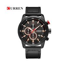 <b>CURREN</b> 8291 Luxury Brand Men Analog Digital Leather Sports ...