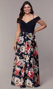 <b>Plus</b>-<b>Size Blue</b> Party Dresses, <b>Blue</b> Evening Plus Gowns