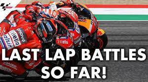 Every last lap battle from the <b>2019 MotoGP</b>™ season so far! - YouTube