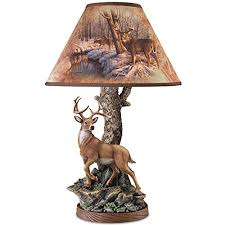 Greg Alexander Whitetail Accent Lamp with Sculpted <b>Deer</b> Base ...