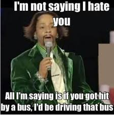 i'm not saying i hate you | lots of laughs | Pinterest | I Hate ... via Relatably.com