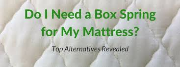 Do I Need a Box <b>Spring</b> for My Mattress? Your Top Alternatives ...