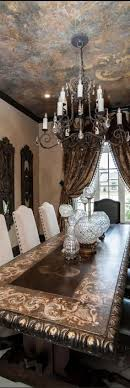 style dining room paradise valley arizona love: the faux finished ceiling mirrors the dining room tables finish and the curtainslove this dining roomcherie