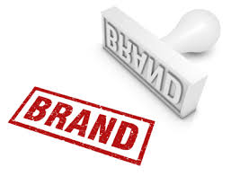 brand image brand rubber stamp part of a series of business concepts