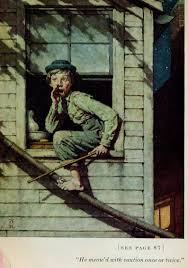 today s inspiration norman rockwell s tom sawyer part 1 today s inspiration
