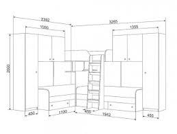 <b>Двухъярусная кровать Трио</b>-<b>3</b> с тремя спальными местами и ...