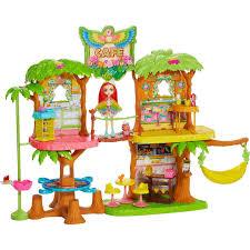 <b>Игровой набор Mattel</b> Enchantimals Джунгли-кафе GNC57: купить ...