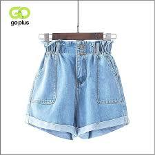 <b>Goplus</b> 2019 <b>Summer</b> Casual <b>Women</b> Jeans <b>Shorts</b> Preppy Retro El ...
