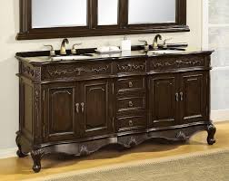 traditional style antique white bathroom: antique double sink bathroom vanity antique double sink bathroom vanity antique double sink bathroom vanity