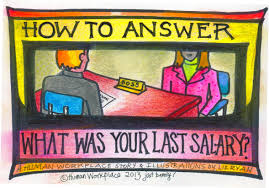 how to answer the question what was your last salary