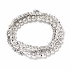 <b>Набор браслетов</b> с круглыми бусинами - купить за 8 220 руб. в ...