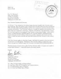 untitled document to university president and university