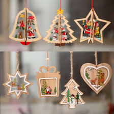 <b>Wooden Christmas</b> Decorations | Festive & Party Supplies - DHgate ...