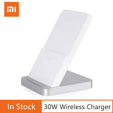 Original <b>Xiaomi Vertical Air cooled</b> Wireless Charger 30W Max with ...