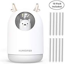 UODBUYO Portable Cool Mist Humidifier - 300ml ... - Amazon.com