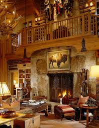 Lodge Living Room Decor Meanwhile Ranch Living Room By Kevin Corn Design Great Western