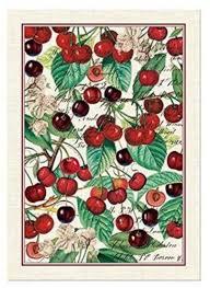 Black Cherry 100% Cotton Kitchen Tea Towel # TOW265 NWT ...