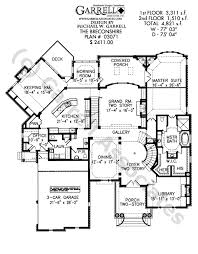Breconshire House Plan   Classic Revival Plansbreconshire house plan   st floor plan