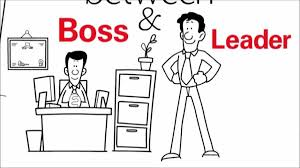 perfect picture to describe the difference between a boss and please go through this perfect picture which describes difference between a boss and leader and share your ideas