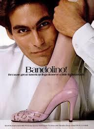 More pics of this campaign here, Jerry Machen, Nick Constantino and Eric Milon. Labels: 1984, Bandolino, Bob Menna, Pete Turner - 83dec