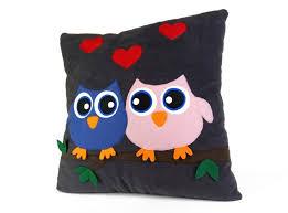 embroidery velour home decor cushion