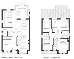 ideas about Bedroom House Plans on Pinterest   Bedroom    five bedroom house plans two story   Unique House Floor Plans Two Story Bedroom