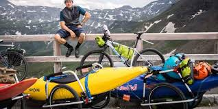 <b>Hand</b> and <b>bike trailers</b> for kayaks - reacha.de