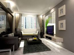 cool glass pendant lamp on white roof display shelves as room dark grey combined beige wall office black sofa set office