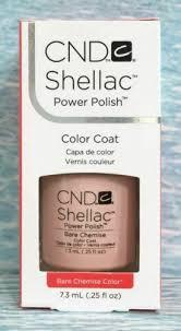 <b>CND Shellac</b> Bare Chemise <b>Intimates</b> Collection Fall 2013 .25 Oz ...