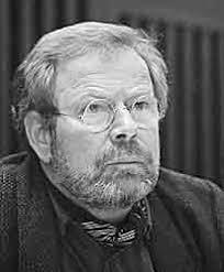 Franz Josef Degenhardt während eines Schriftstellertreffens am 5.