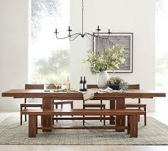 Menlo <b>Reclaimed Teak</b> Extending Dining <b>Table</b> | Pottery Barn
