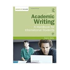 Best Academic Writing Books One of the greatest stumbling blocks encountered by international students is the necessity to write their academic papers in English and freelance academic