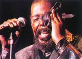 Barry Eugene White (a.k.a. Barry Eugene Carter). Barry White. b. 12th September 1944, Galveston, Texas, U.S.A.. d. 4th July 2003, Cedars-Sinai Medical ... - Barry-White-Singing