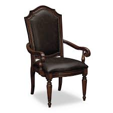 Brown Leather Dining Room Chairs Dining Pair Of Upholstered Dining Room Chairs With Arms Bedroom