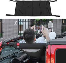 RT-TCZ New Style Black Car Roof hammock Car Bed ... - Amazon.com