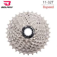Bolany <b>MTB Bike</b> Freewheel Steel 8s 24s Single Speed Cassette 11 ...