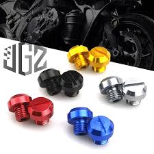 motorcycle rearview screw cap mirror seat decorative cover aluminum alloy universal for motorcycles scooter